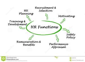 HR Functions stock illustration Illustration of concept  94356763