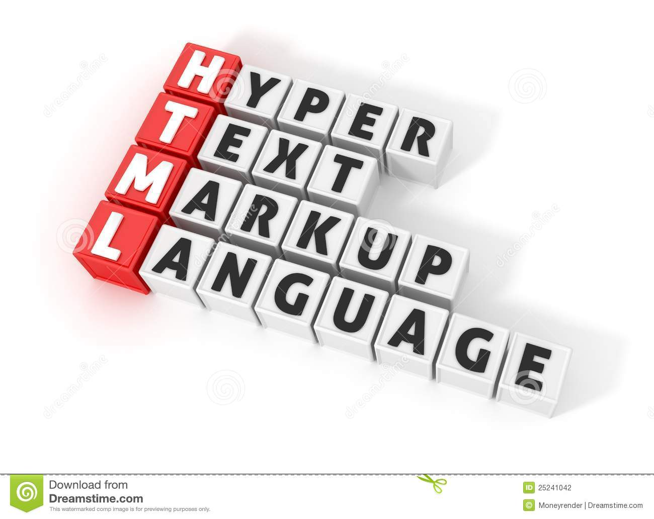 Html Definition Stock Photography  Image 25241042