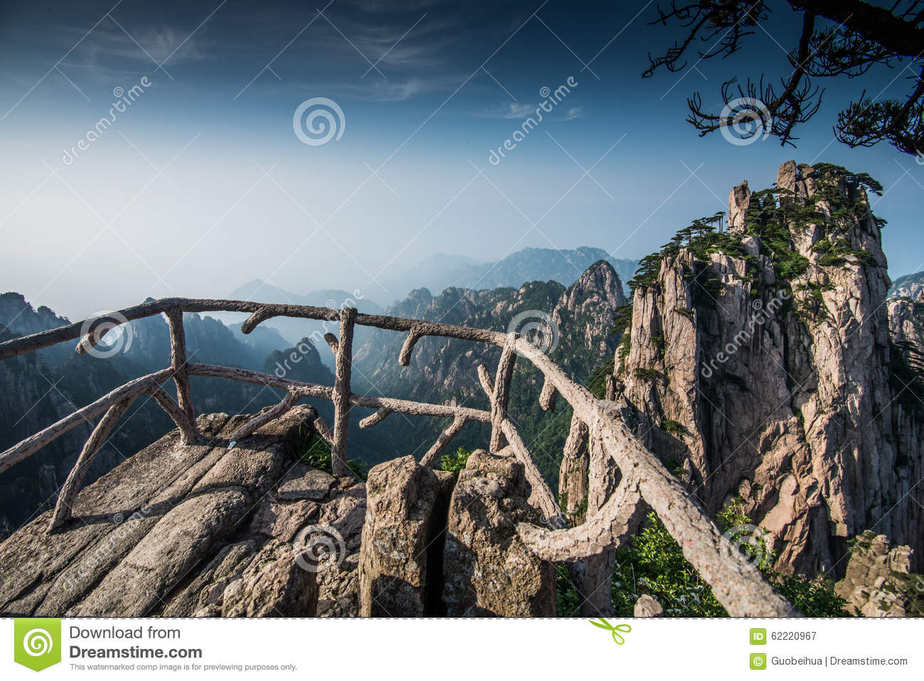 Huangshan stock image Image of journey china mountains