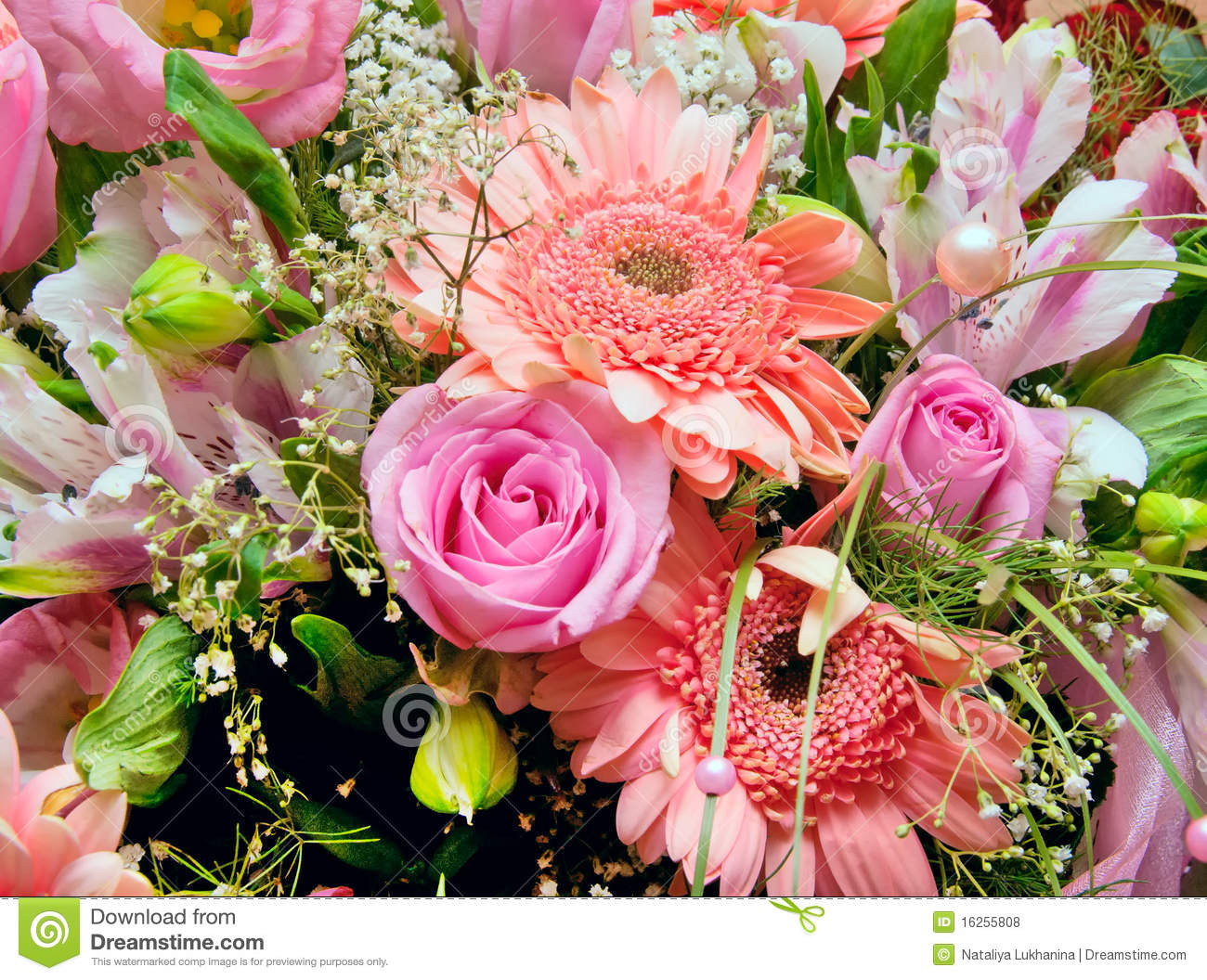 Huge Bouquet Of Flowers Royalty Free Stock Photos  Image