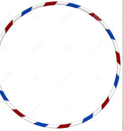 hula hoop with blue and red striped [ 1389 x 1300 Pixel ]