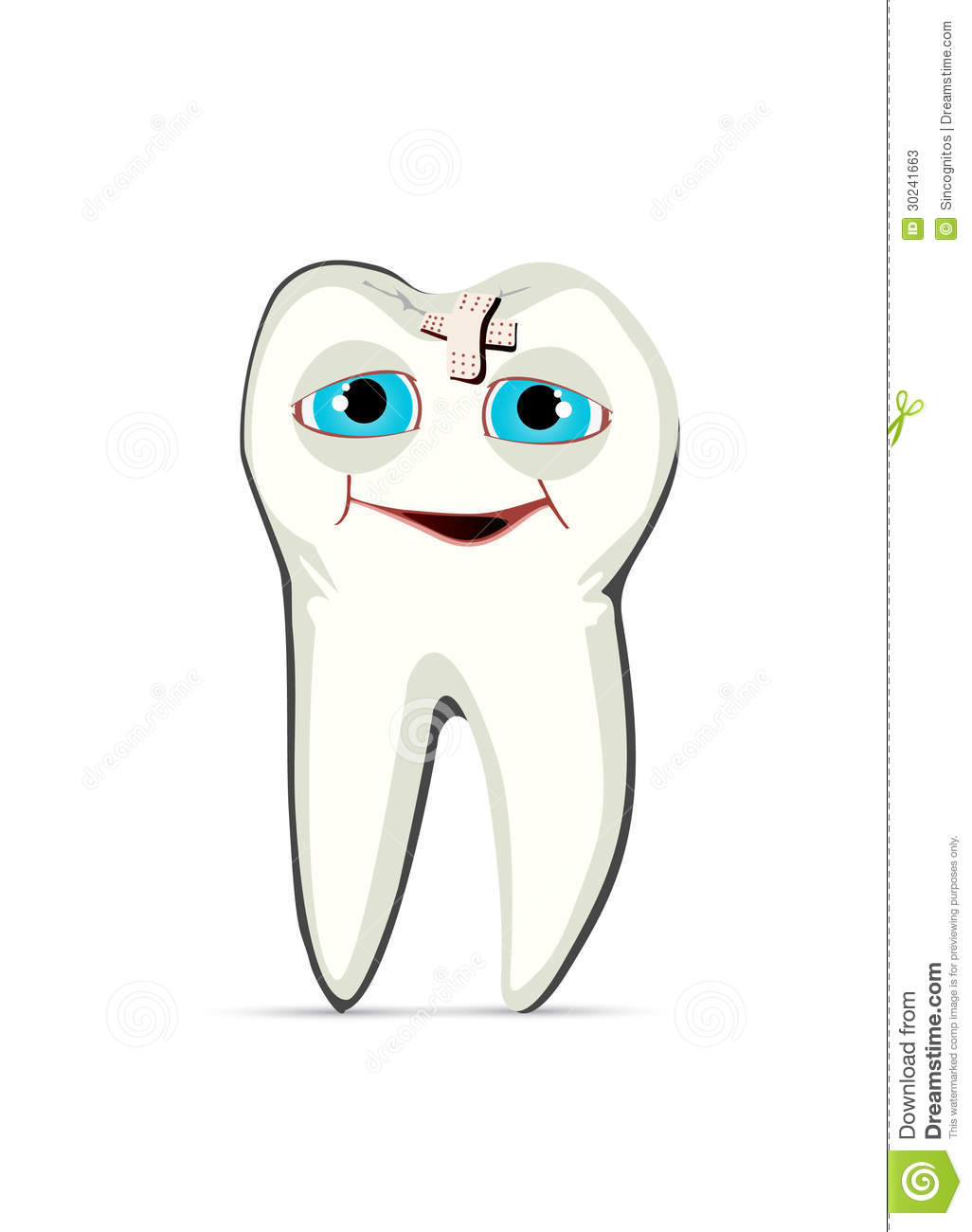 Healed Tooth Stock Photos
