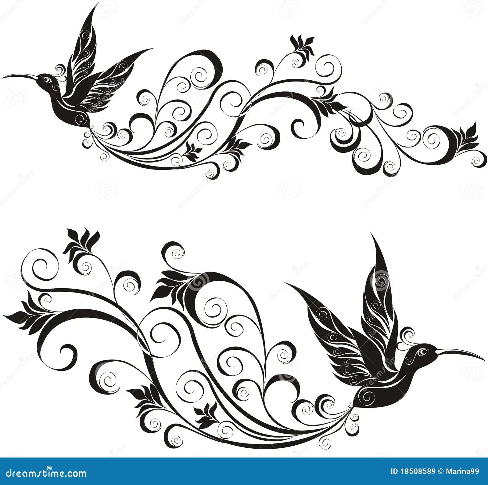 Hummingbird Vector Illustration Stock Vector