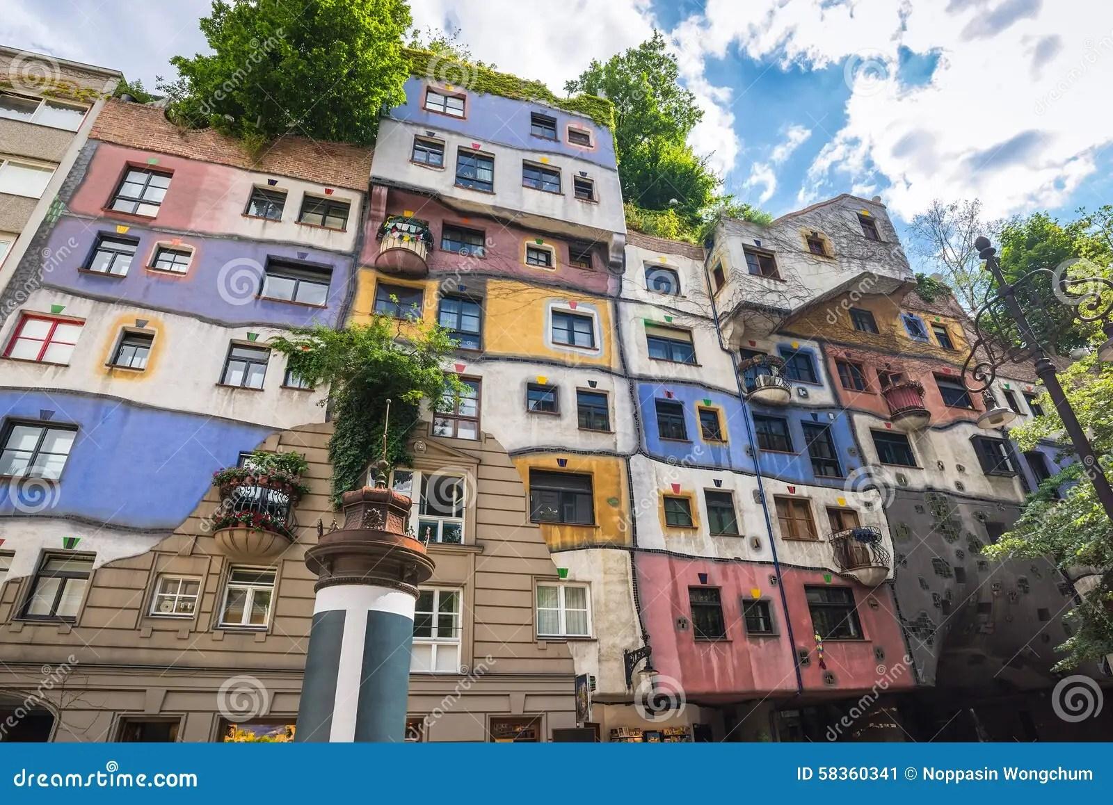 Hundertwasser House - Vienna - Austria Stock Image - Image of city, austria: 58360341