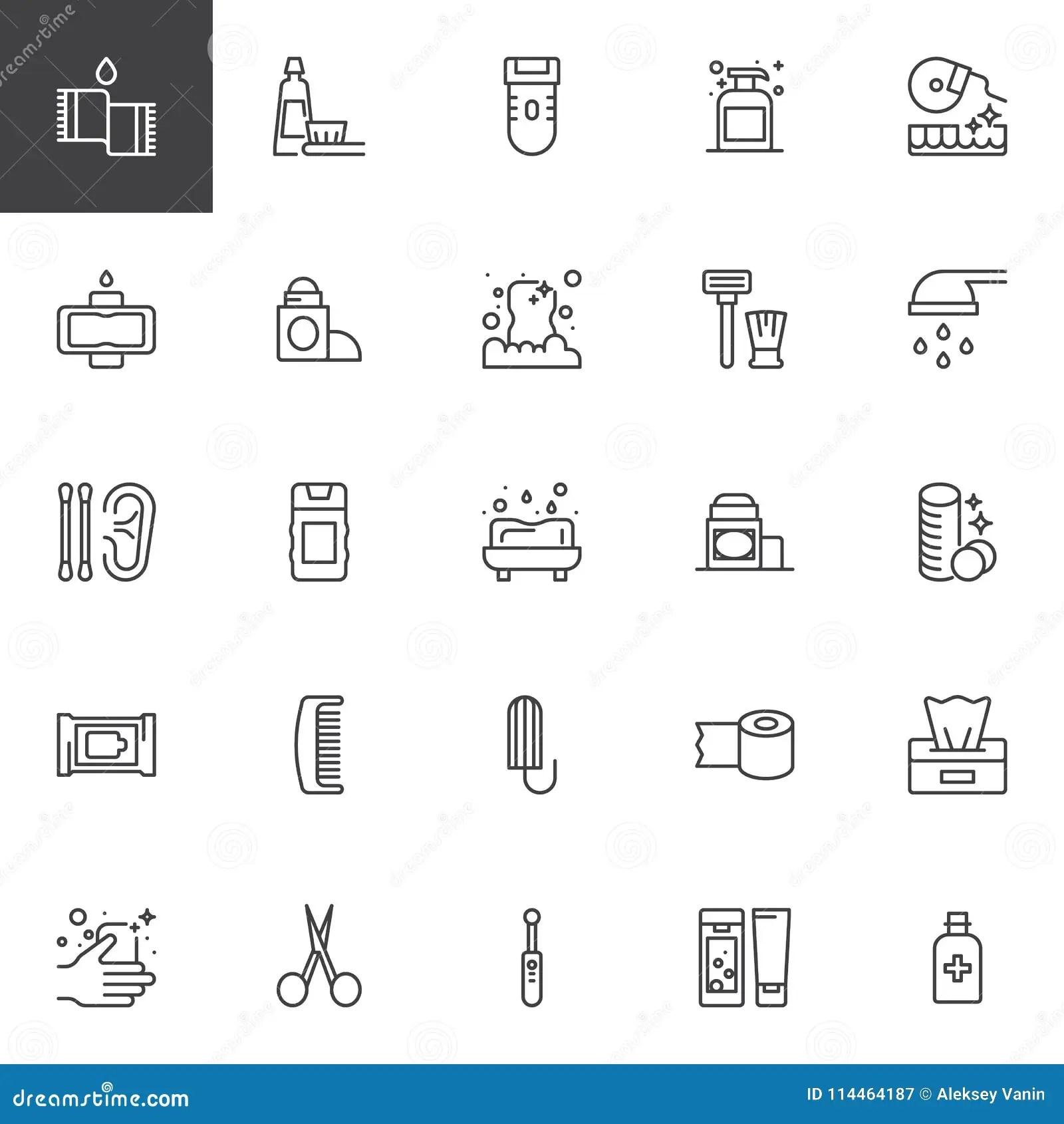 Sanitary Towel With Symbols Cartoon Vector