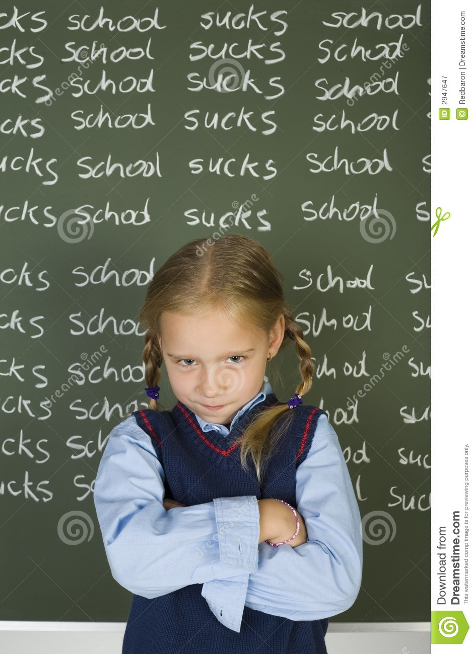 I Hate School Royalty Free Stock Photography Image 2947647