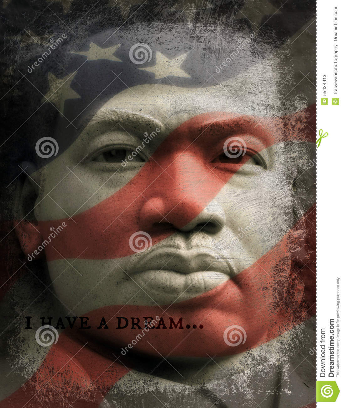 I Have A Dream Martin Luther King Jr Editorial Stock