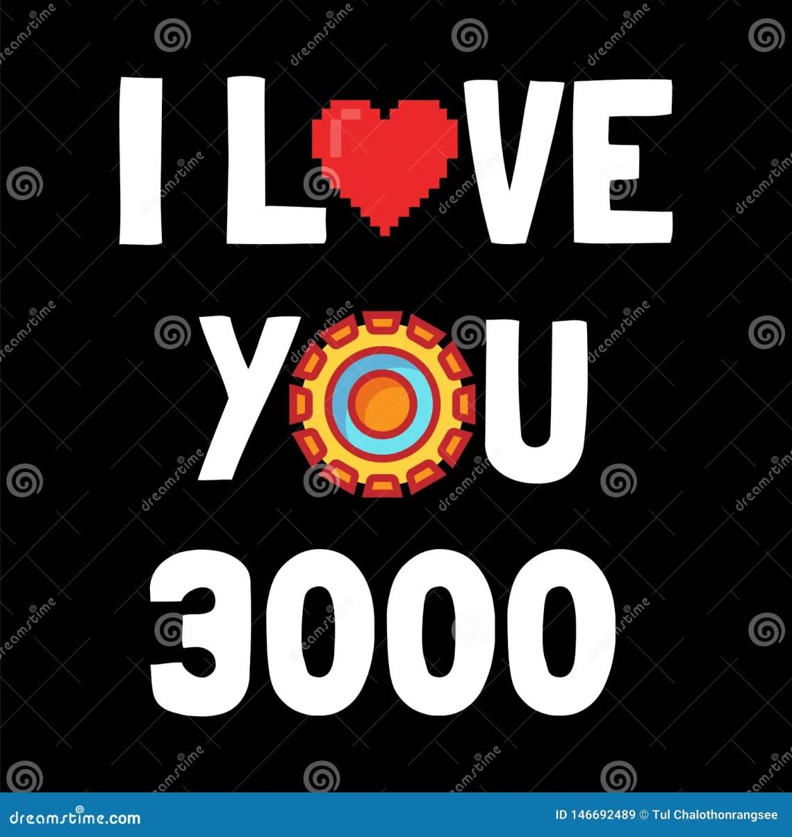 Download I love you 3000 stock illustration. Illustration of sign ...