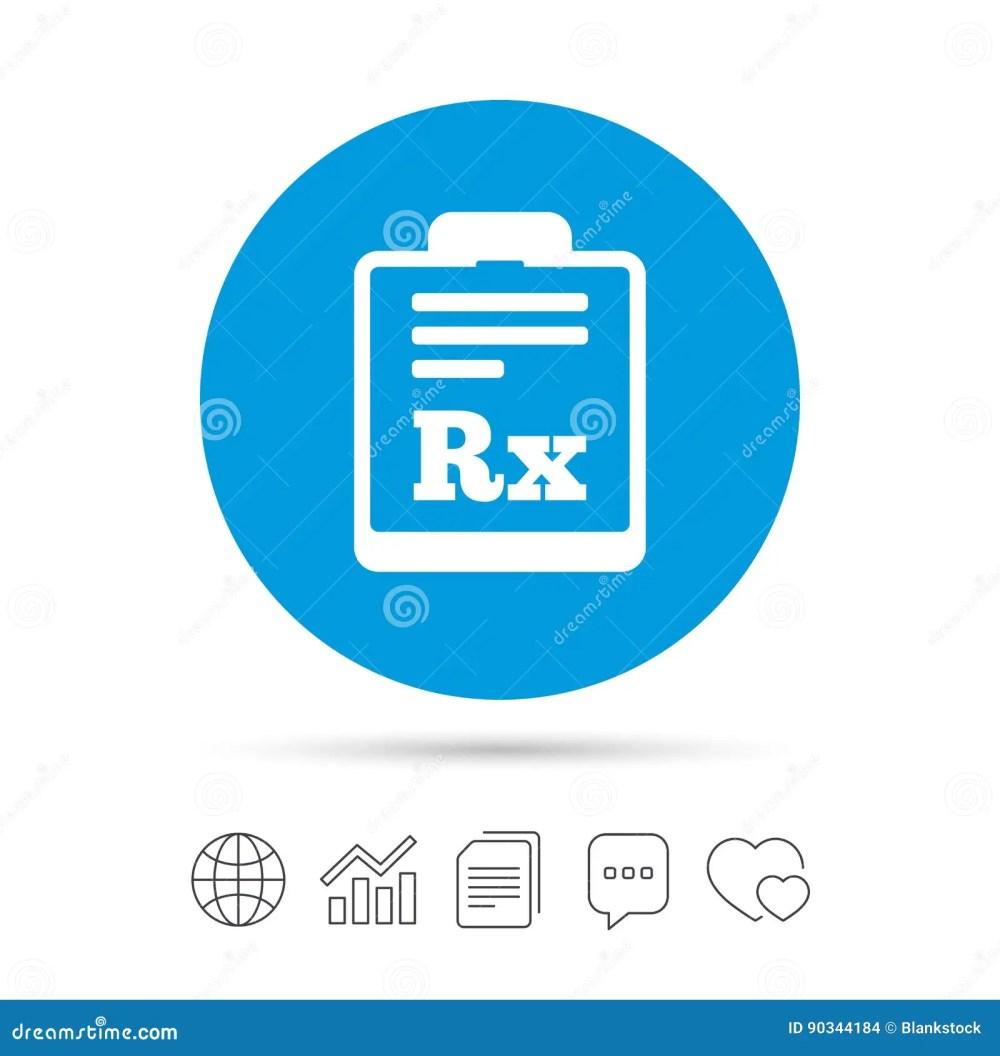 medium resolution of  de rx de prescription symbole de pharmacie ou de m decine copiez les dossiers causez les ic nes de web de bulle de la parole et de diagramme vecteur