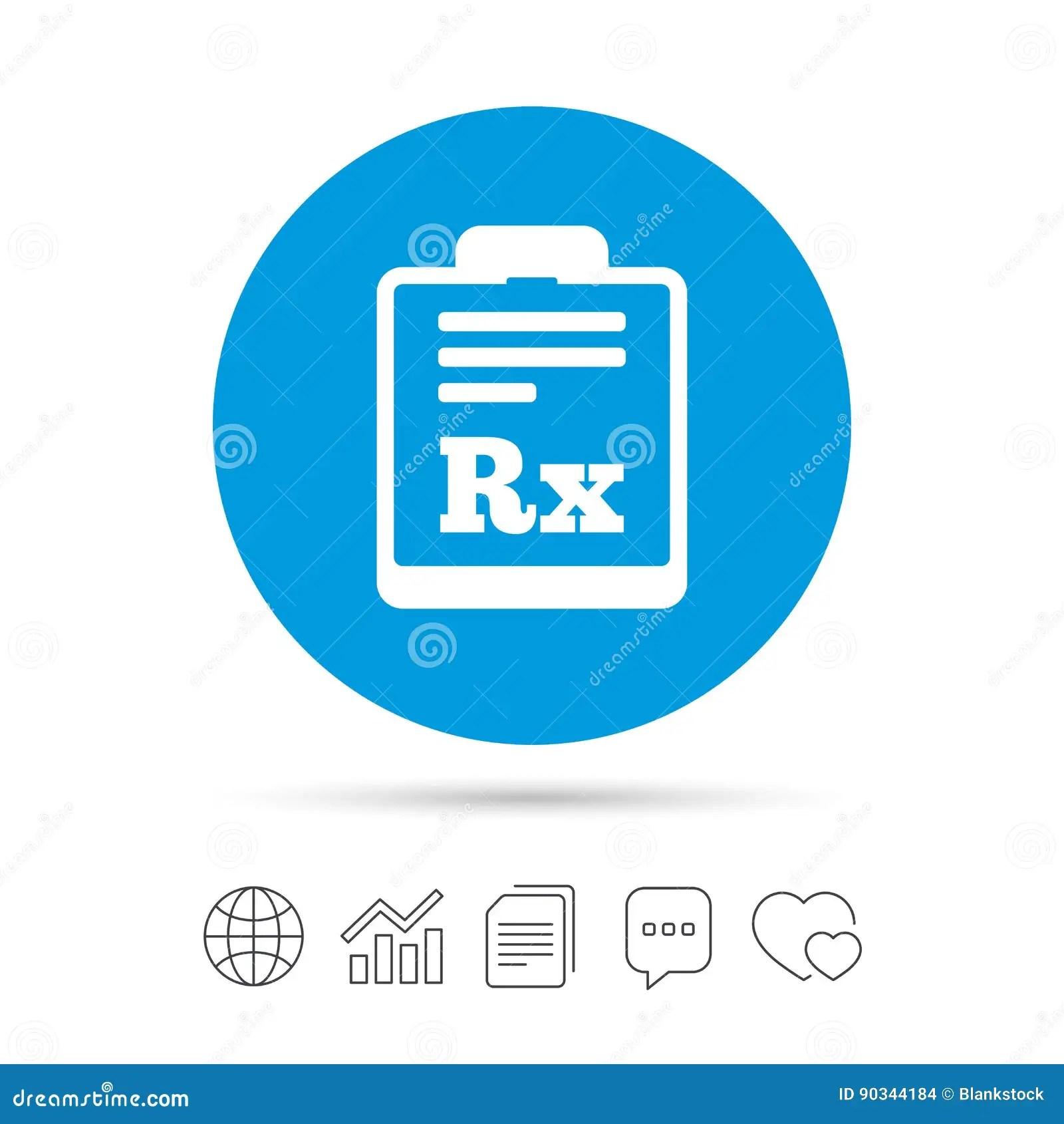 hight resolution of  de rx de prescription symbole de pharmacie ou de m decine copiez les dossiers causez les ic nes de web de bulle de la parole et de diagramme vecteur