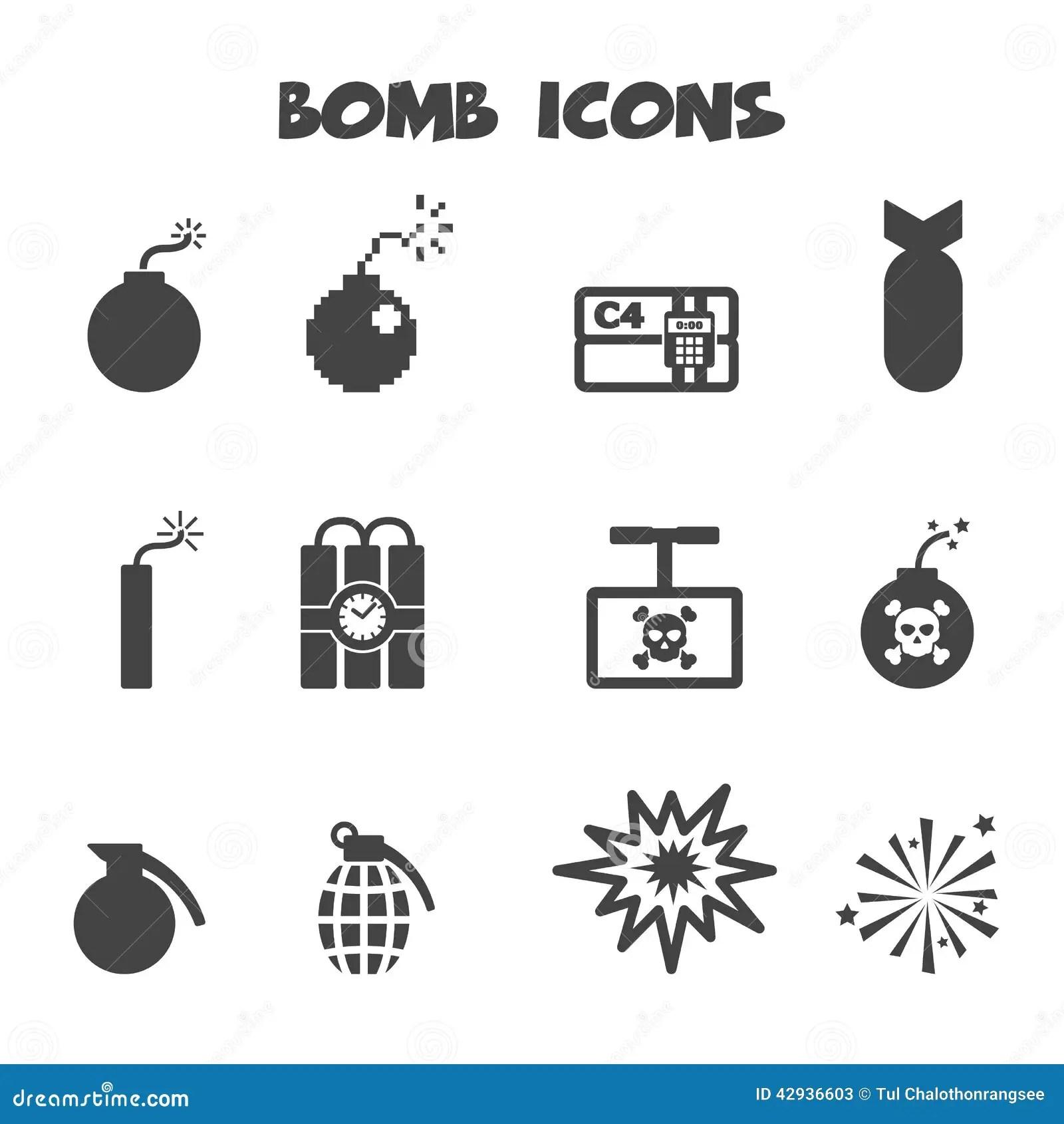 Icones Dee Illustration De Vecteur Illustration Du