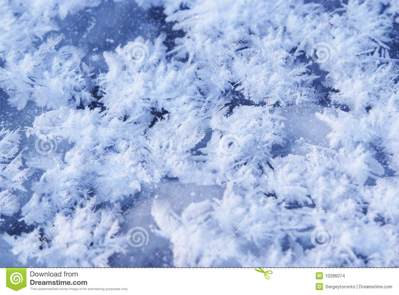 New 3d Animation Wallpaper Ice Flakes On Blue Frozen Background Stock Images Image