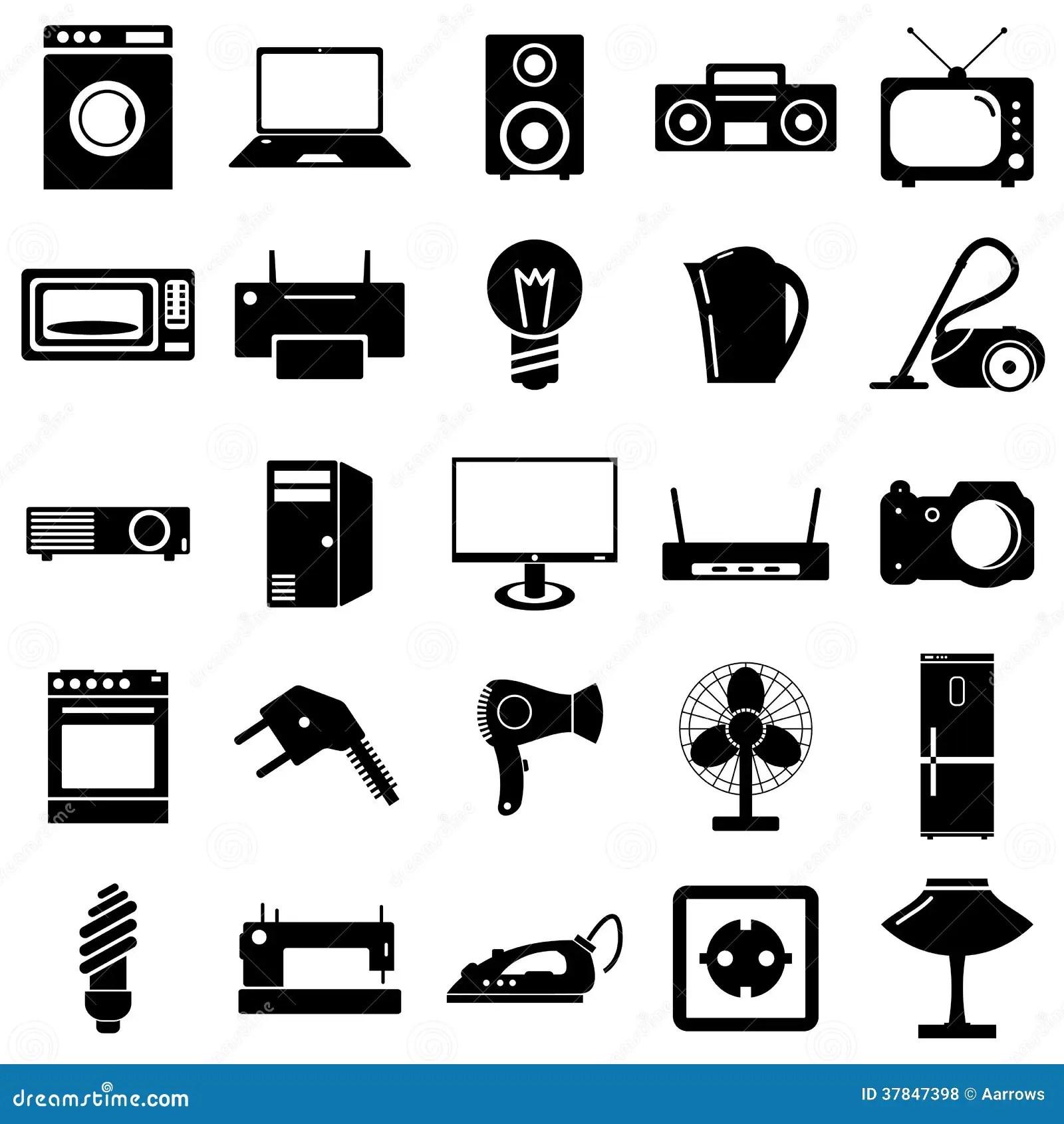 Iconos Planos De La Coleccion Simbolos De Los