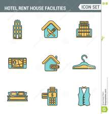 Hotel Staff Icons Vector Illustration