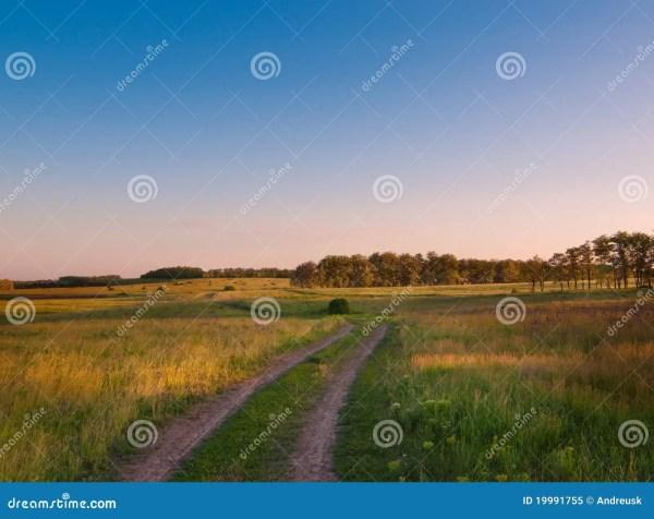 idyllic landscape in russia royalty