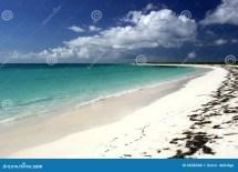 Idyllic Tropical Beach Scene Royalty Free Stock