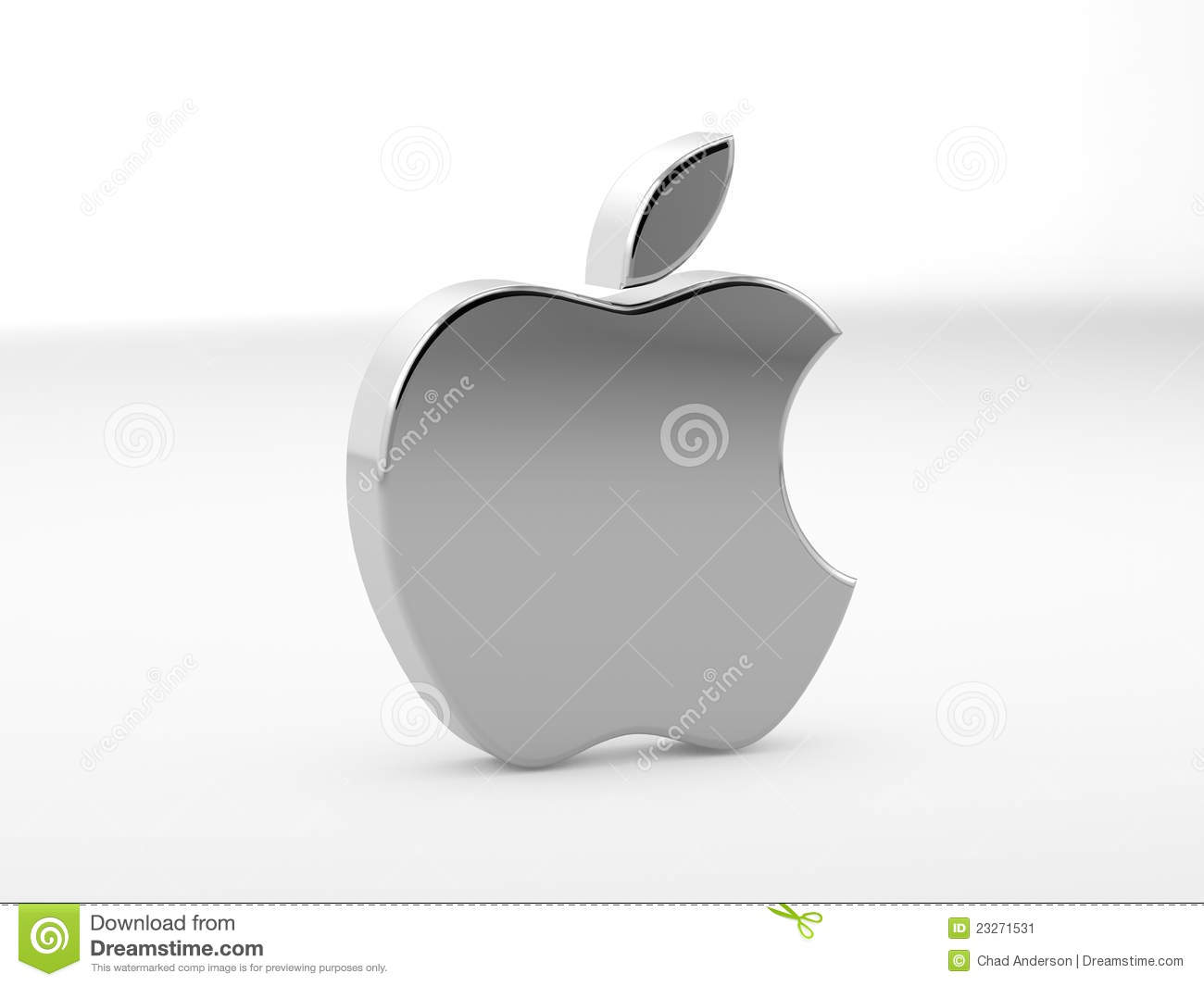 illustration of apple logo