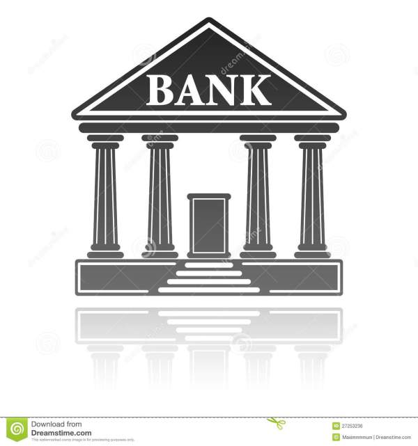 illustration with bank royalty