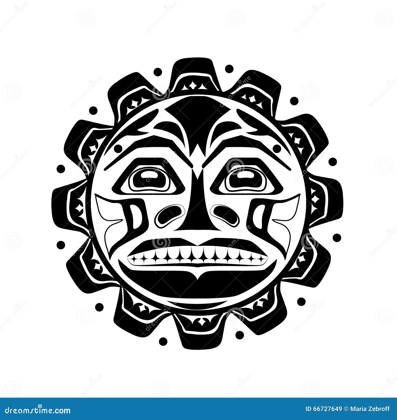 Illustration De Vecteur Du Symbole Du Soleil Illustration