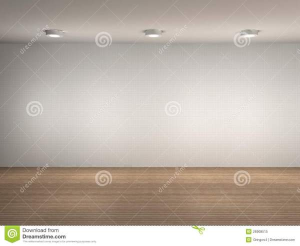 Illustration Of Empty Wall Royalty Free Stock