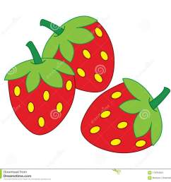 clipart of strawberries over white background [ 1300 x 1228 Pixel ]
