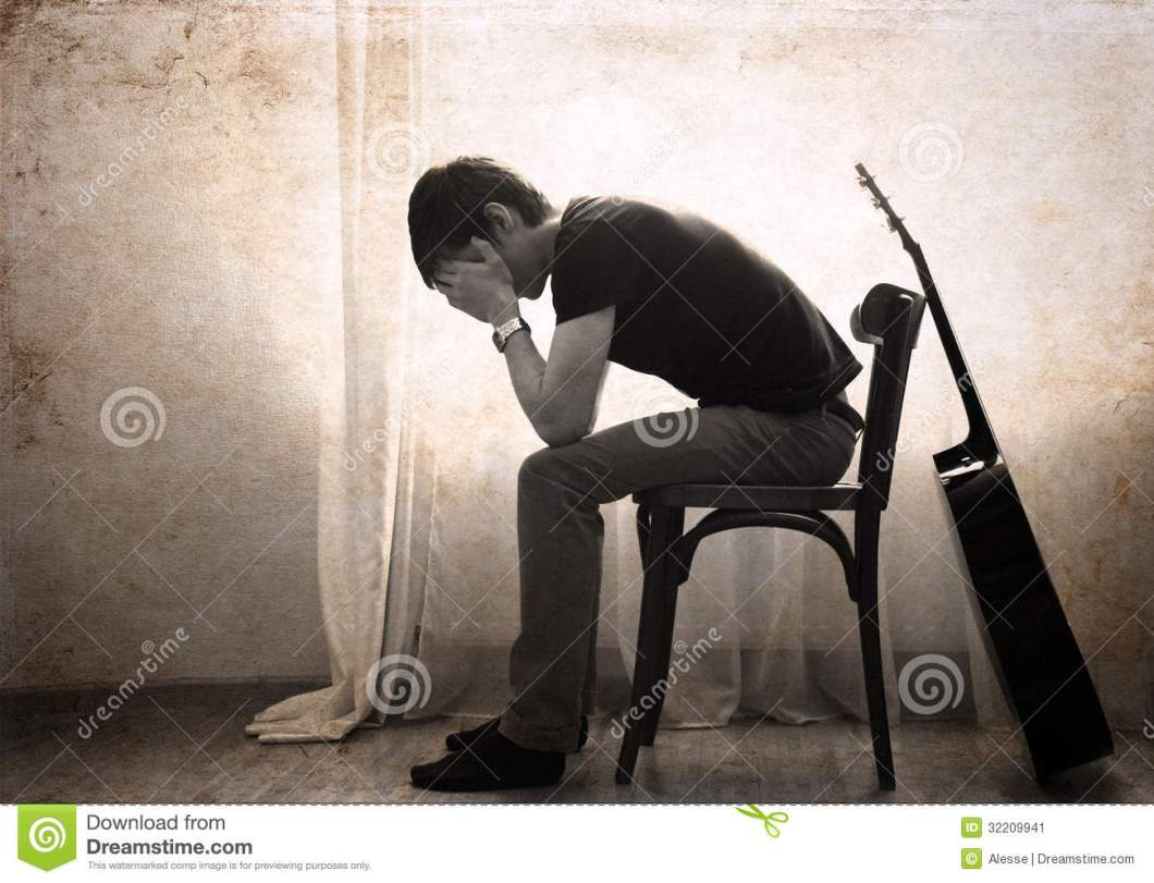 Hd Sad Boy With Guitar Wallpapers