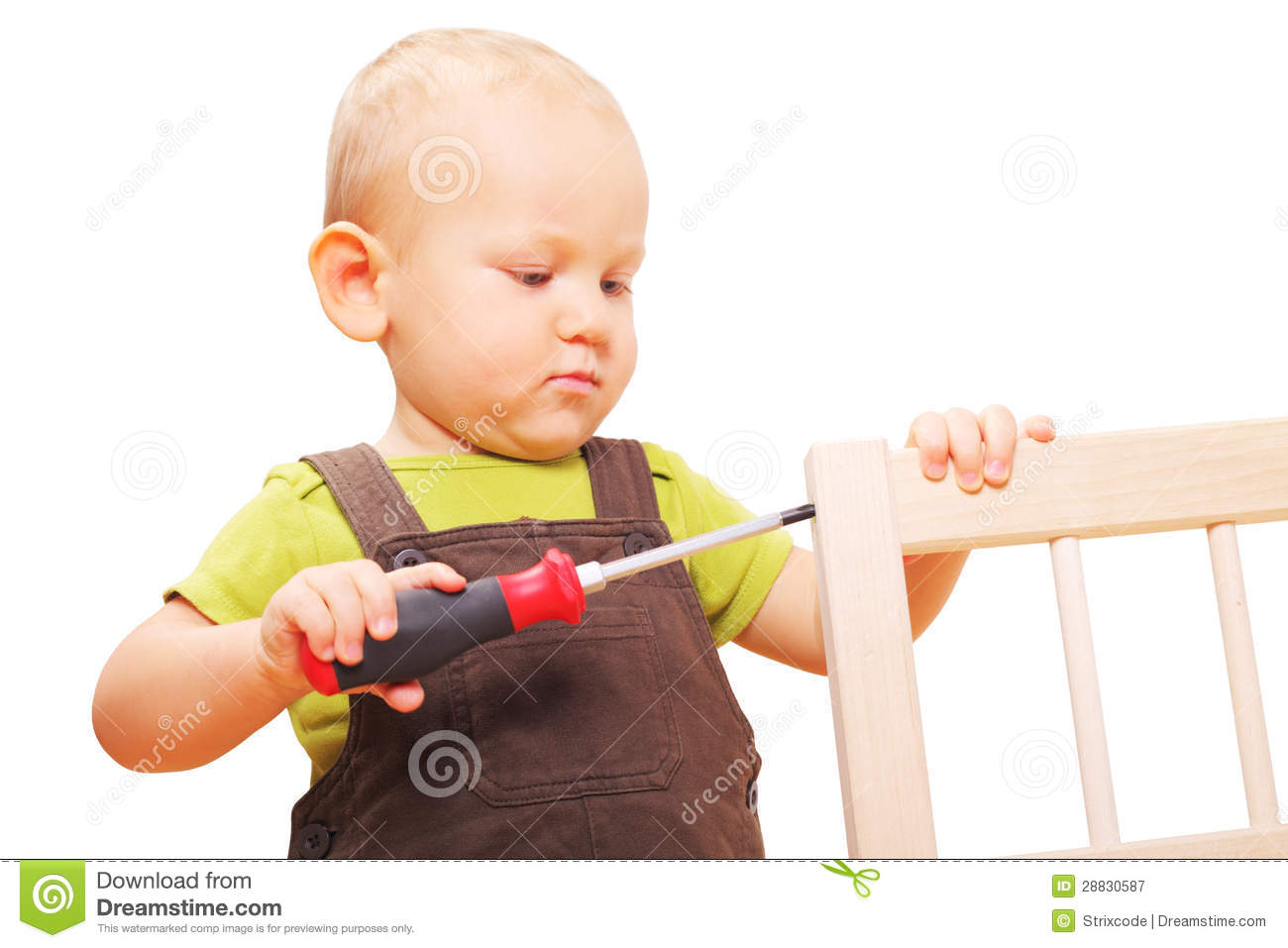 little boy chairs tj maxx chair image of fixing with screwdriver royalty