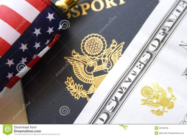Immigration Concept Stock Of