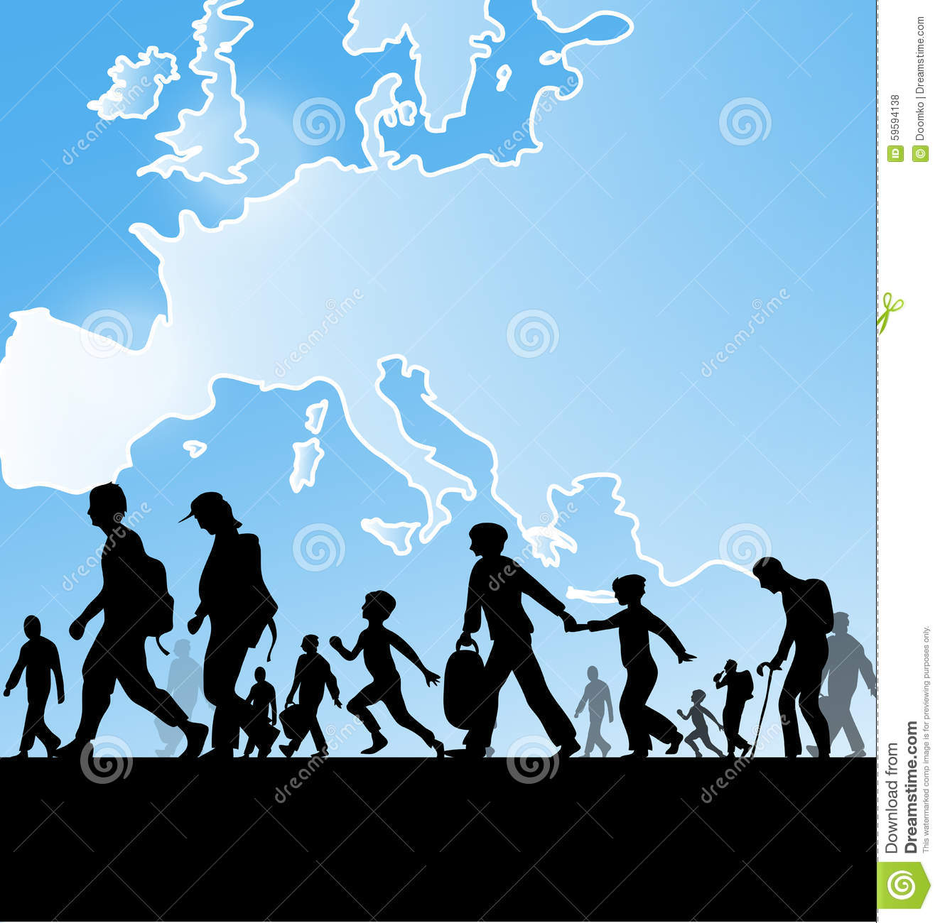 Immigration Cartoons Illustrations Amp Vector Stock Images