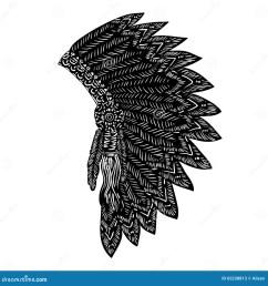 indian headdres clipart [ 1300 x 1390 Pixel ]