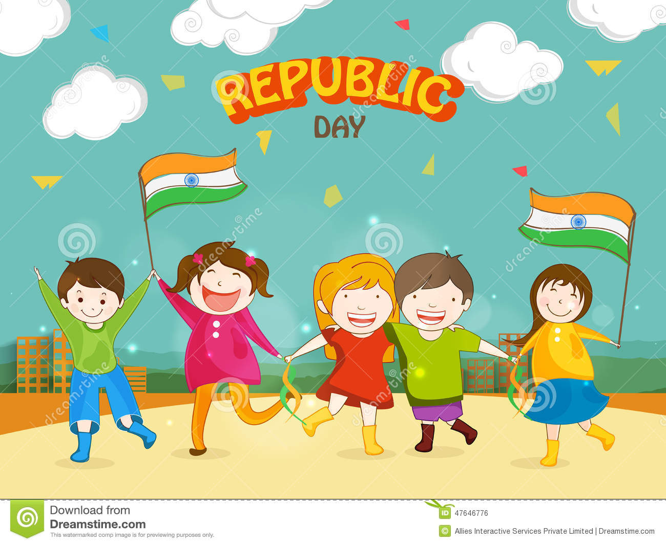 Easy Drawing For Republic Day Republic Day Easy Drawing