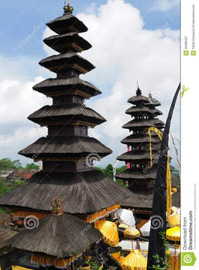 Indonesia, Bali, Architecture Royalty Free Stock ...