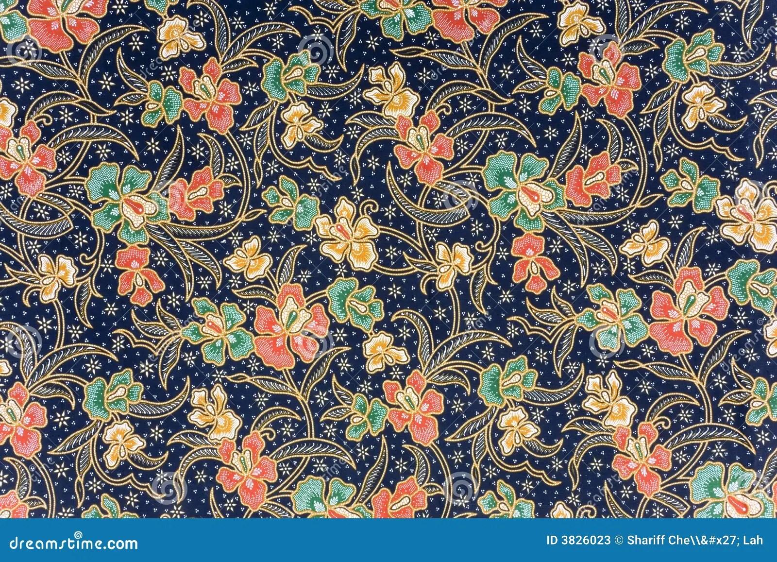 Indonesian Batik Sarong Stock Photos  Image 3826023