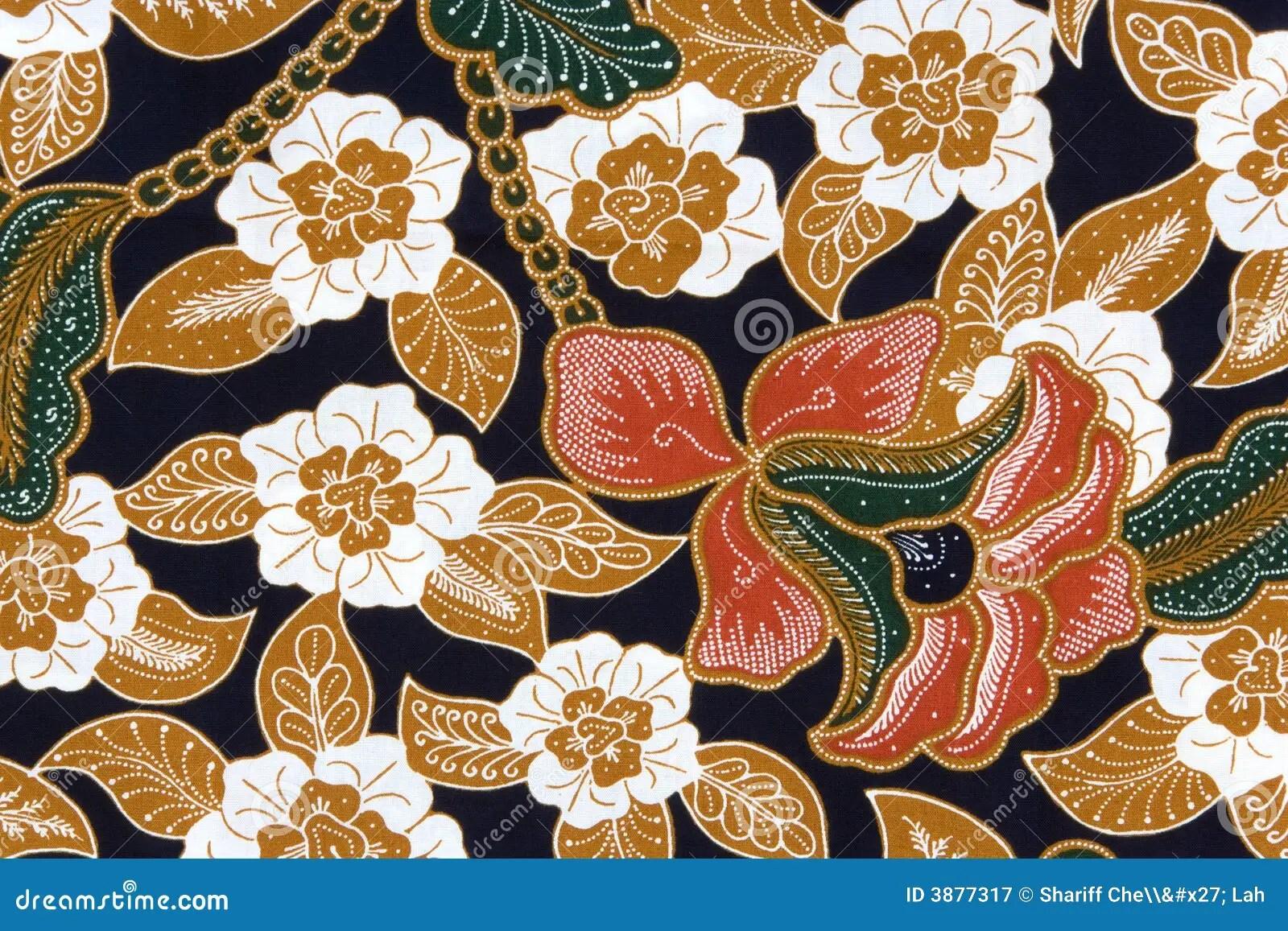 Indonesian Batik Sarong stock image Image of fashion