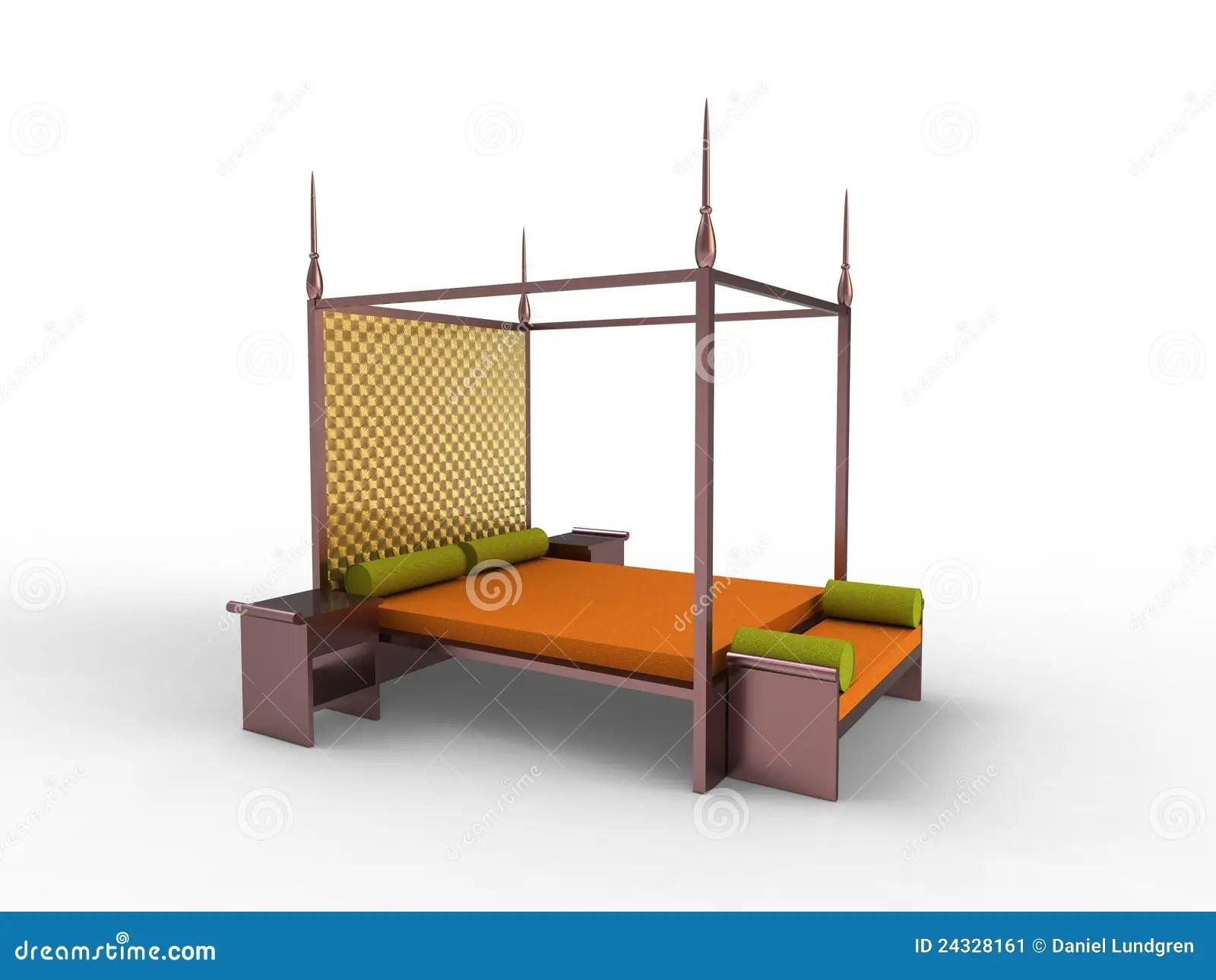 Indonesische Slaapkamer 2 Stock Afbeelding  Beeld 24328161