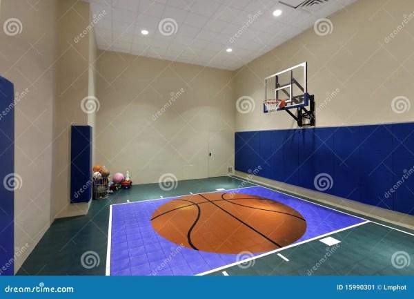 Indoor Basketball Court Plans