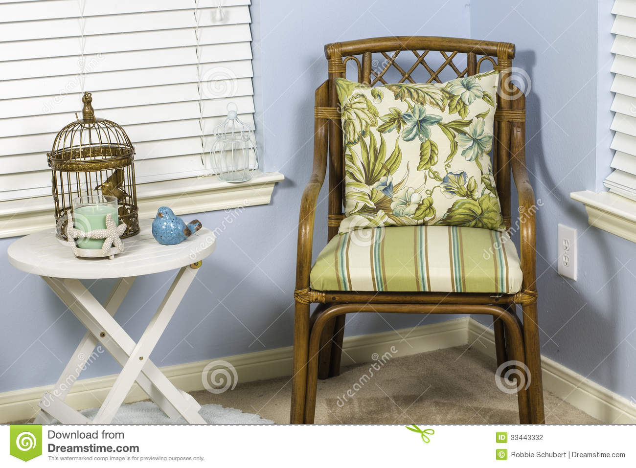 Wicker Chairs Indoor Indoor Beach Chair Stock Photo Image Of Sunroom Style 33443332