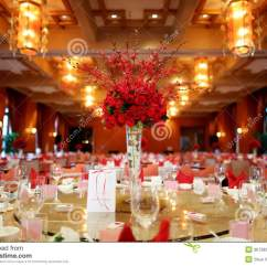 Dinner Table And Chairs Outside Rocking Uk Indoor Wedding Scene Stock Image - Image: 36728251