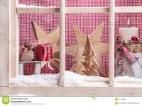 Indoor Window Sill Christmas Decoration: Gifts, Snow ...