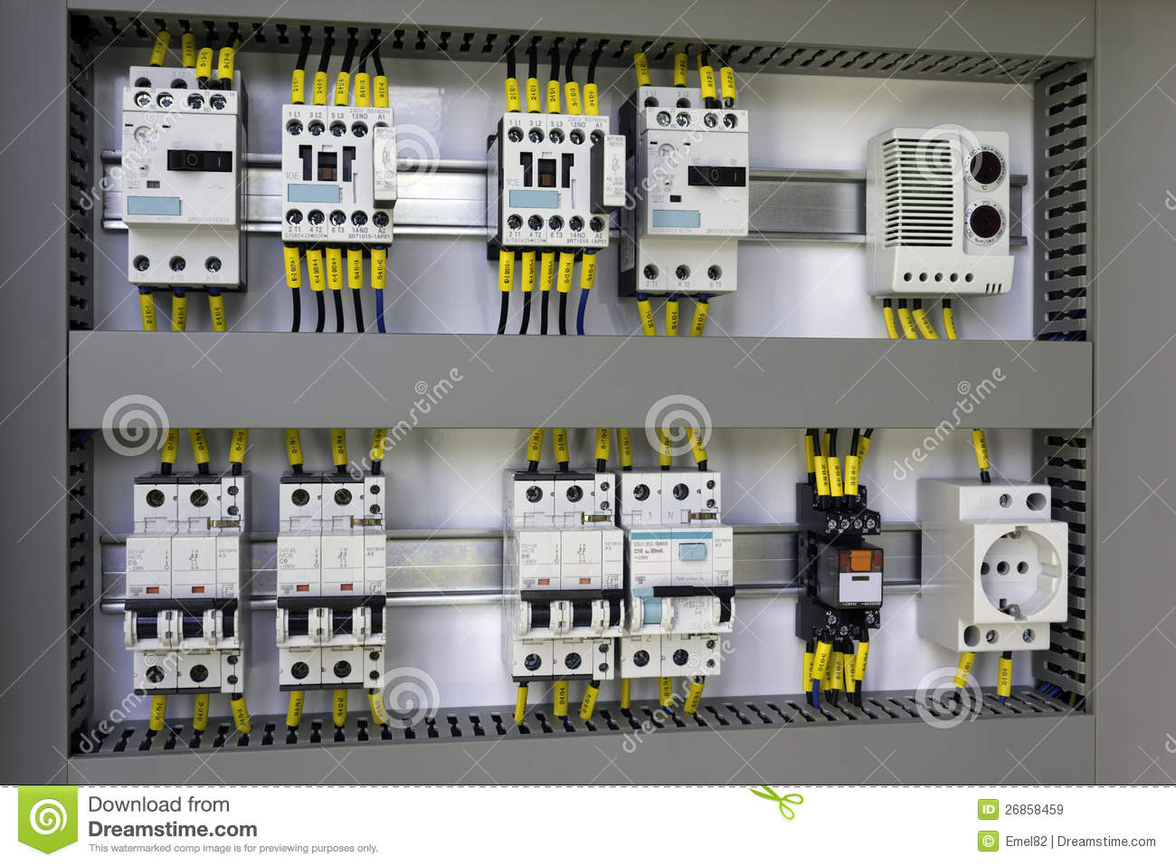 hight resolution of industrial electrical equipment