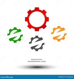 industrial engineering logo mechanical gear [ 1300 x 1390 Pixel ]