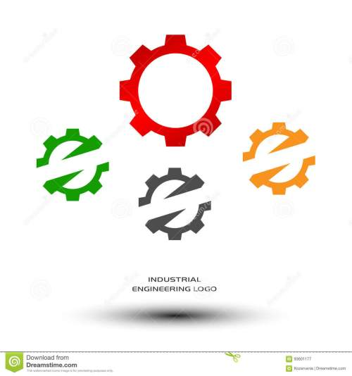 small resolution of industrial engineering logo mechanical gear