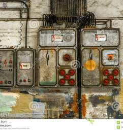 industrial fuse box on the wall stock image image of engineering home fuse box fuse box wall [ 1300 x 954 Pixel ]
