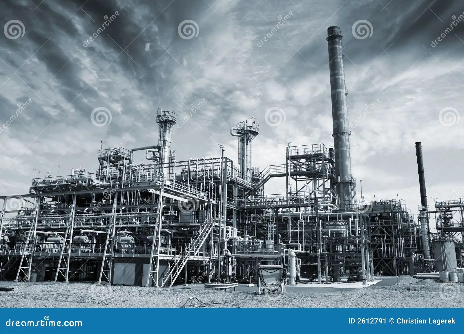 Industrialplants Darker Side Stock Image  Image 2612791