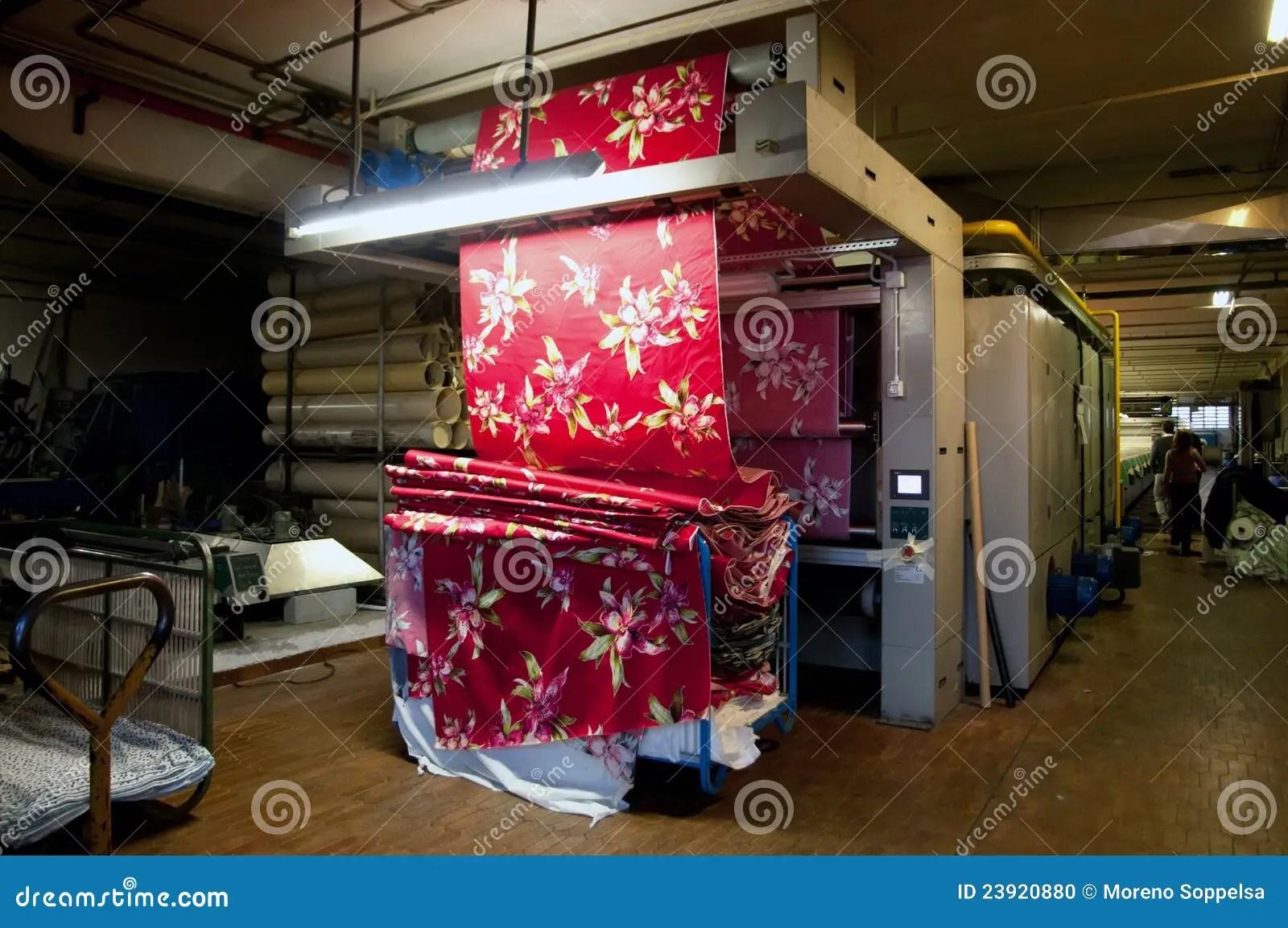 Roller Printing Textiles