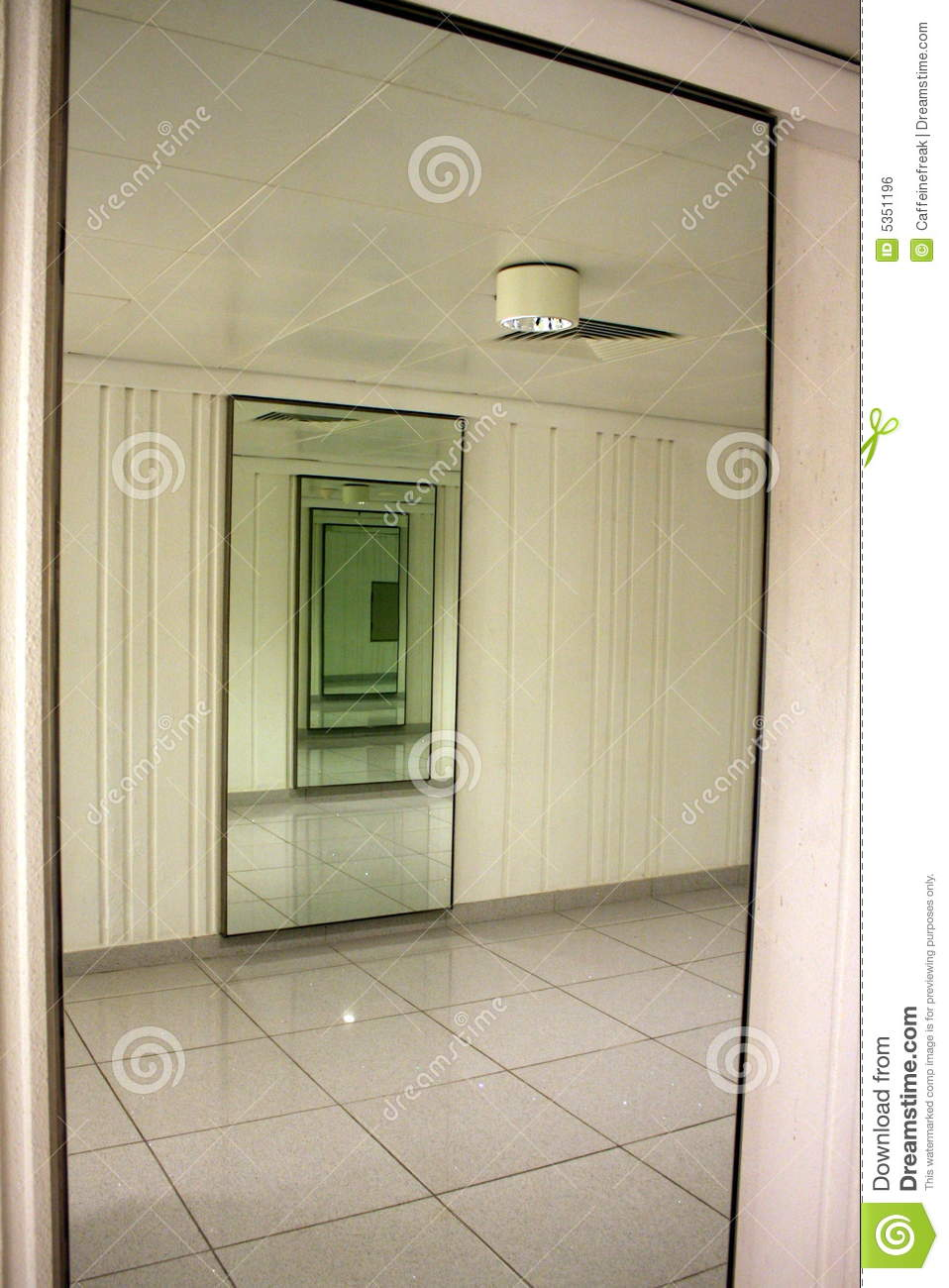 Infinite Hallway Mirrors Royalty Free Stock Image  Image