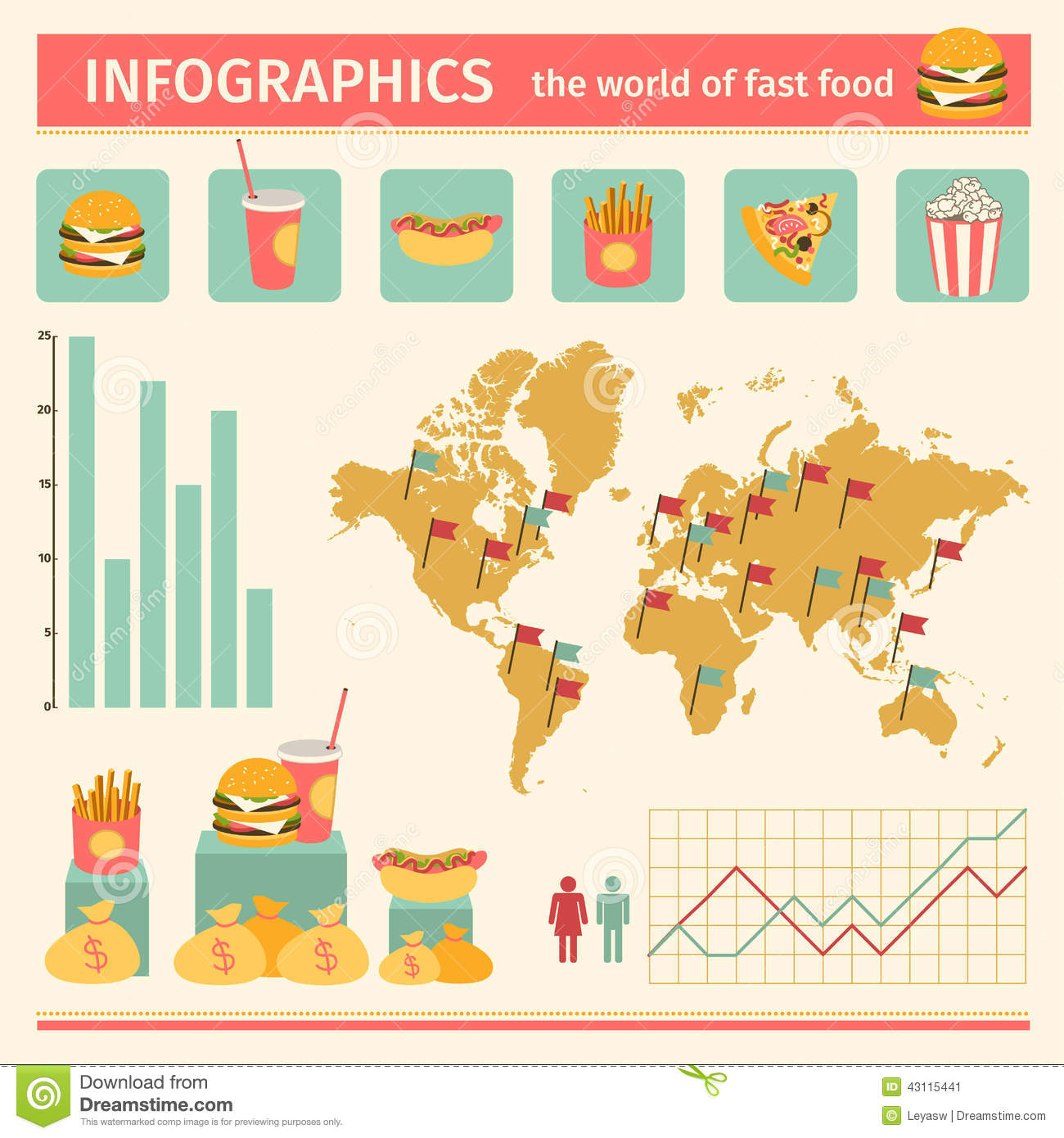 spatial diagram of fast food craftsman lawn tractor parts infographic consumption around the world