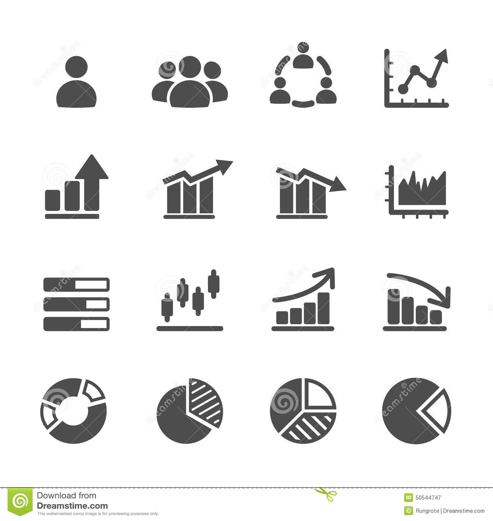 Infographic Et Ensemble D Icone De Diagramme Vecteur