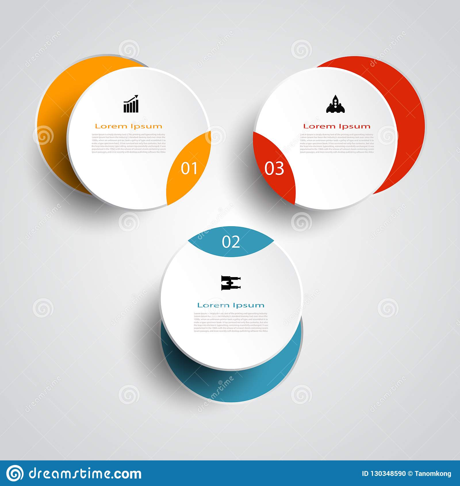 hight resolution of infographic technology template digital and engineering telecoms 3 step