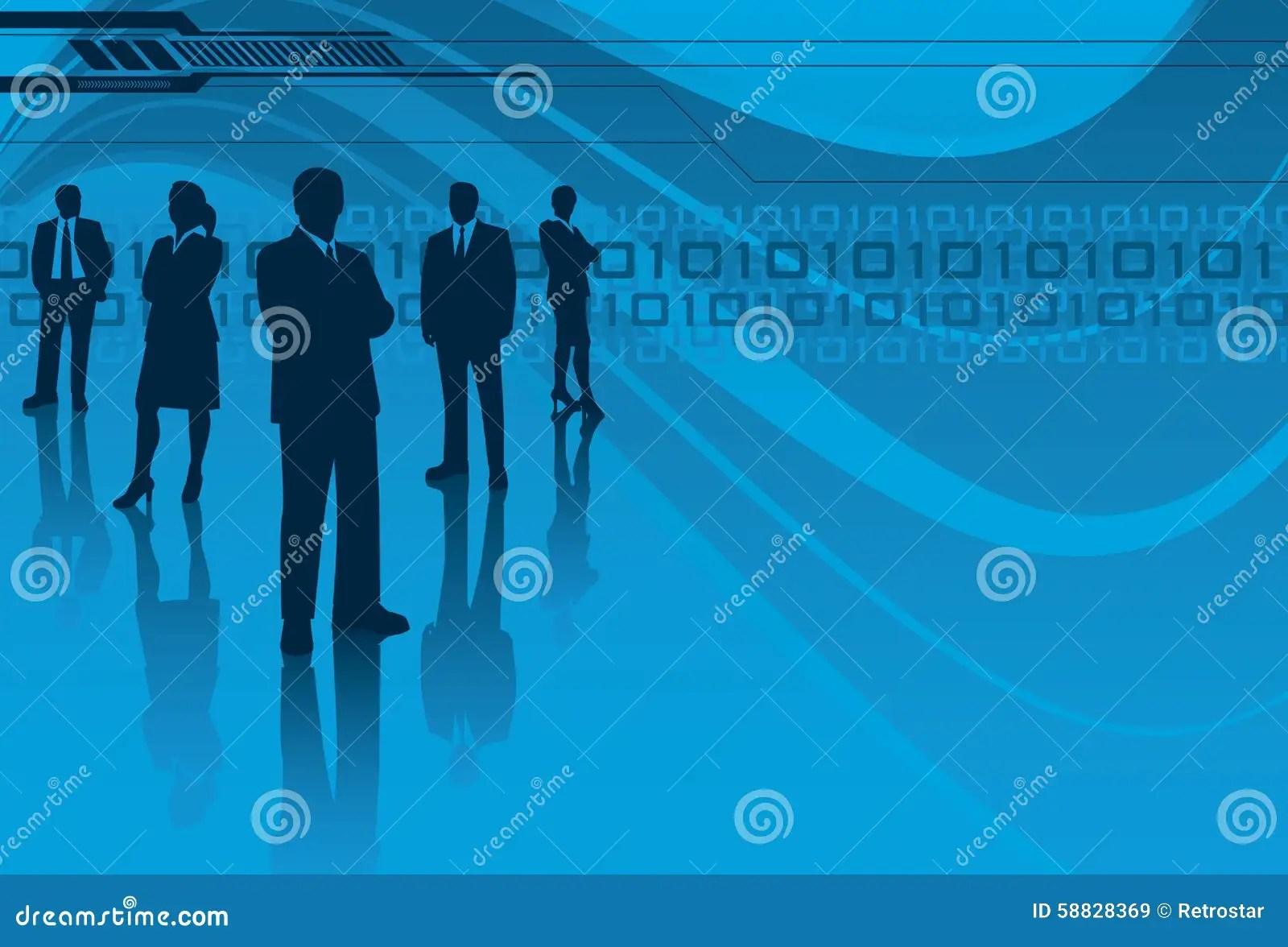 Information Technology Team Stock Vector  Illustration of copy vector 58828369